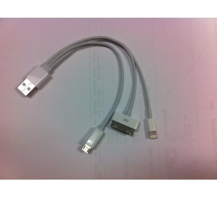 30 pin /iphone5/mirco usbsamsung tap4in1