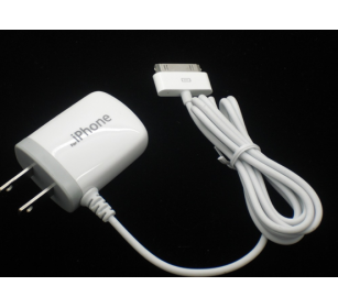 IPhone 4/4s /ipod/ipad 1A AC charger with cable