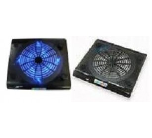 Super Size Cooling Fan Notebook Laptop Cooler w/LED Light