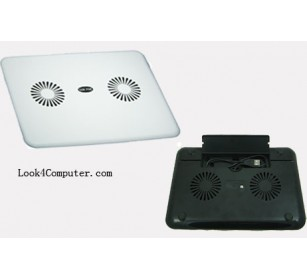 Excelent 2coolingFan Notebook CoolingPad