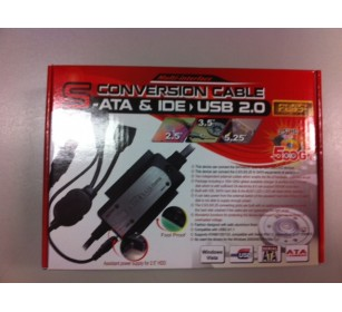 USB2.0 TO SATA/IDE/2.5/3.5 -3D- DONGL